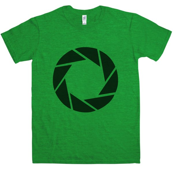 Aperture Science Logo T Shirt