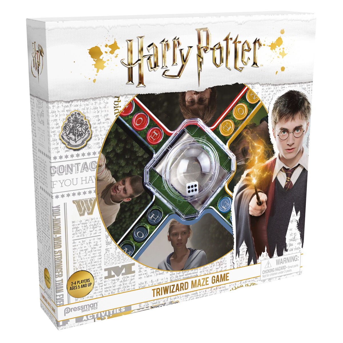 Harry Potter Tri Wizard Maze Game With Fast Pop N Race