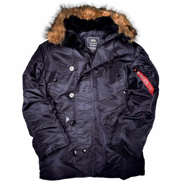 Alpha Industries -3b Parka Extreme Cold Weather Winter