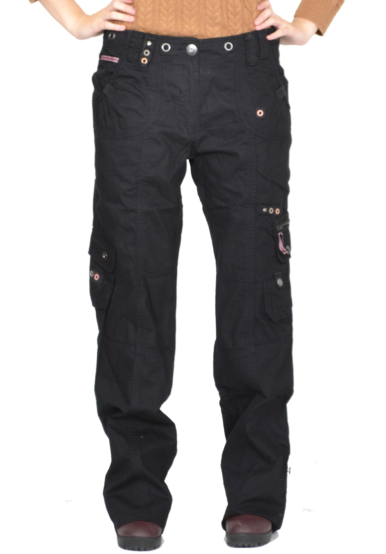 Baggy Black Cargo Shorts