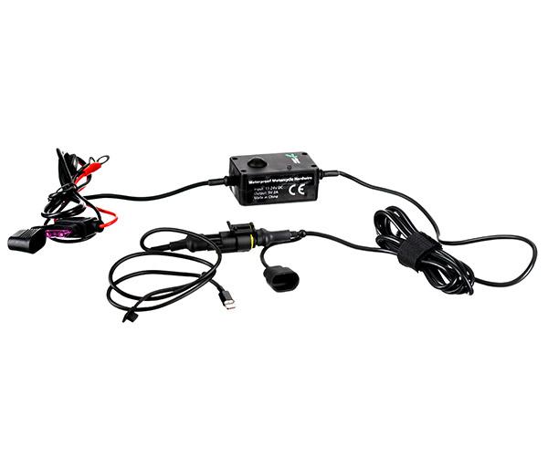 Motorrad kabelgebundene direkte Battery Rapid Charger Kit