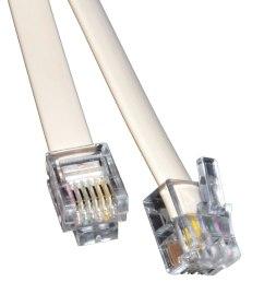5m rj12 6p6c to rj12 cable plugs white rj11 6 wire 5055383423965 ebay mix 6 pin [ 1000 x 1000 Pixel ]