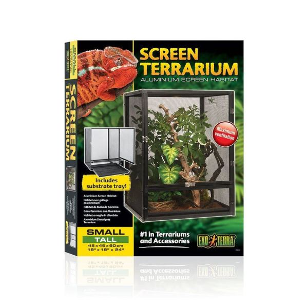 Exo Terra Reptile Mesh Screen Terrarium Chameleons Arboreal Climbers Small Tall 15561226769