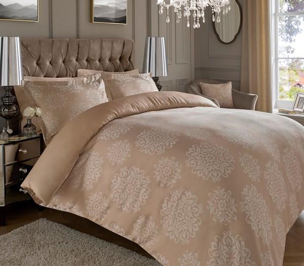Quality Jacquard High Cotton Rich Duvet Cover Sets 600 Thread Count