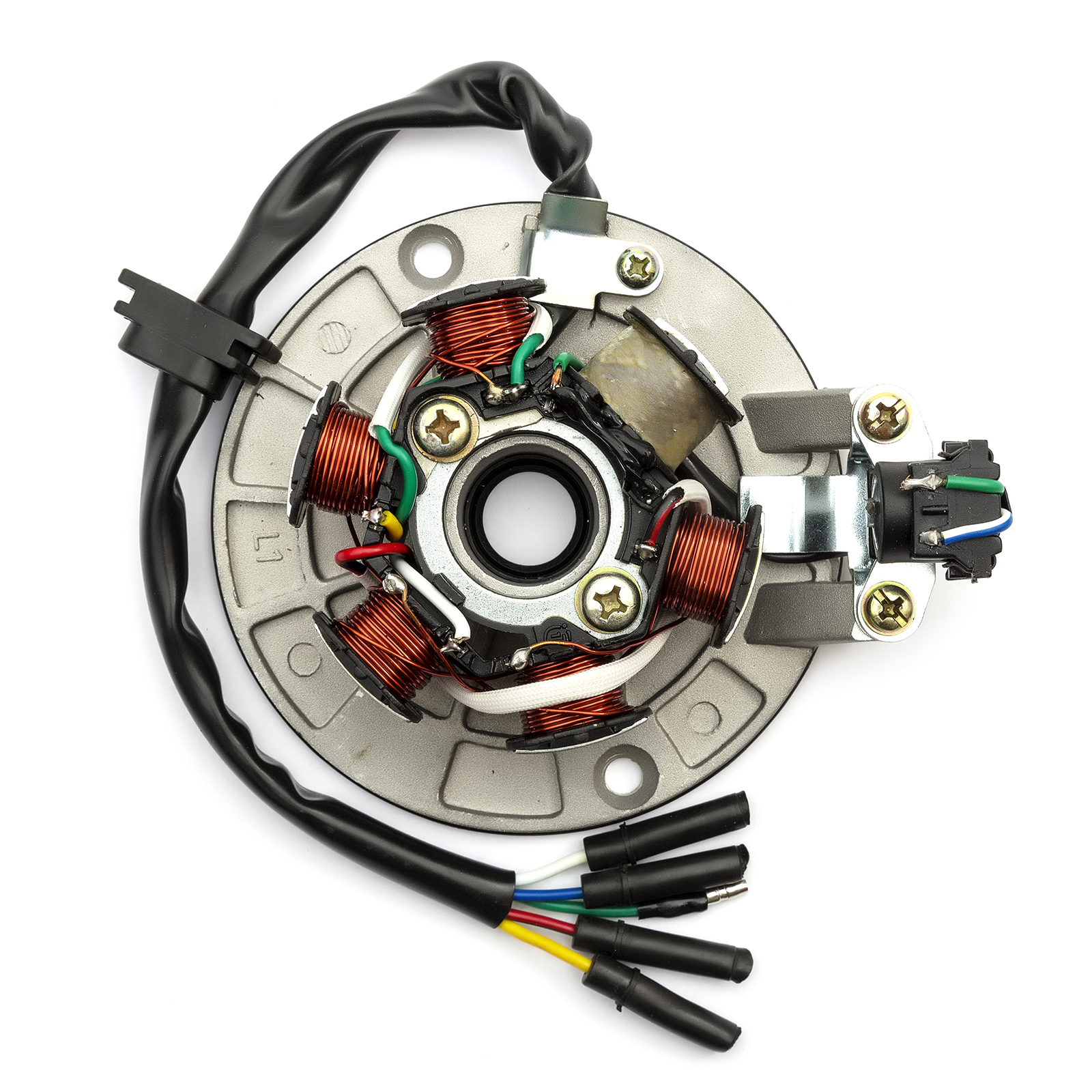 hight resolution of stator magneto 6 pole 5 wire pitbike yx140 yx150 yx160 dirtbike runs wiring diagrams besides pit bike clutch cable besides dirt bike wiring