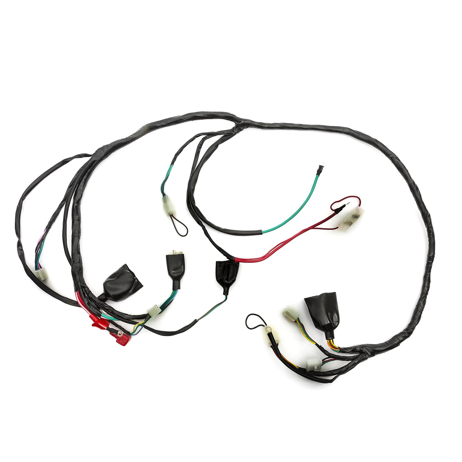 Scooter Wiring Loom Harness Baotian 50cc Qt12