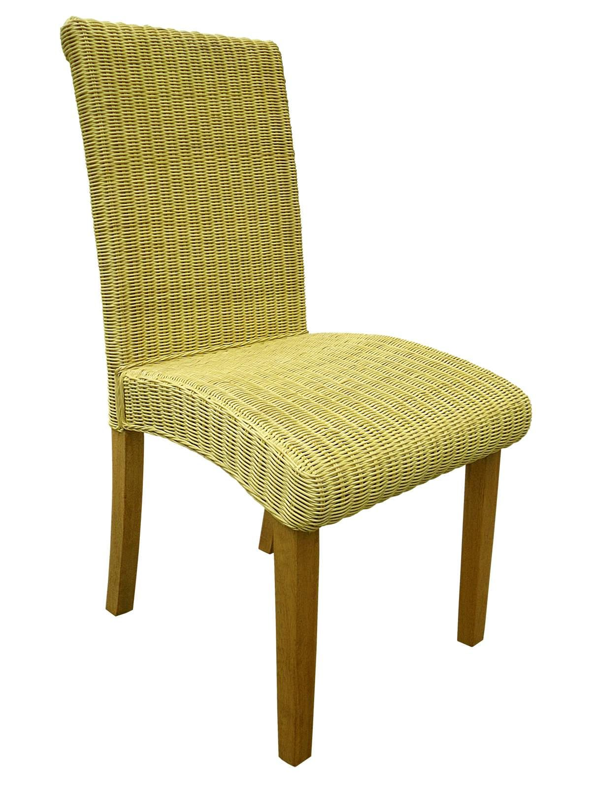 Details About Abaca Wicker Rattan Dining Chair Indoor Conservatory Dining Furniture
