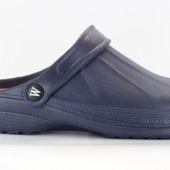 Kitchen Shoes For Men Waste Baskets Wetlands Mens Navy Blue Garden Hospital Clogs Ebay
