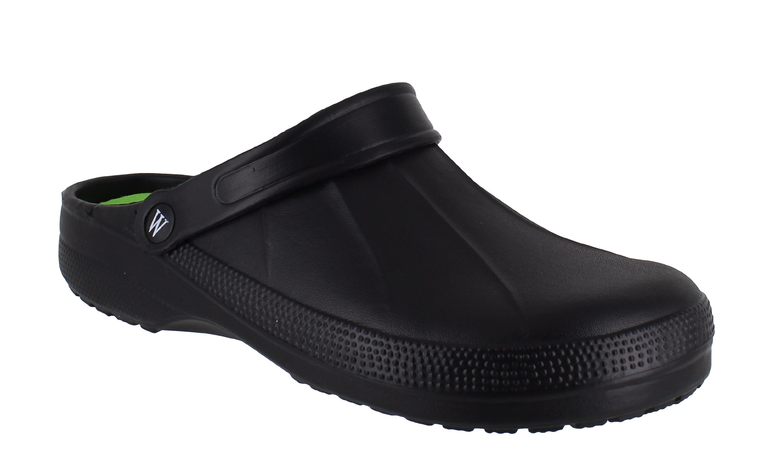 kitchen shoes for men kohler sink faucets mens wetlands lightweight slip on garden hospital