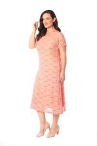 Womens Plus Size Dress Ladies Flapper Sequin Lace Floral ...