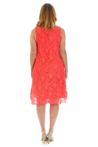New Ladies Dress Womens Floral Lace Tunic Flapper ...