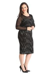 New Womens Plus Size Dress Midi Bodycon Ladies Sweetheart ...