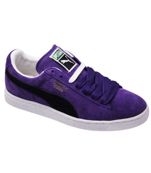 Mens Boys Puma Suede Classics Eco Lodge Skate Sport