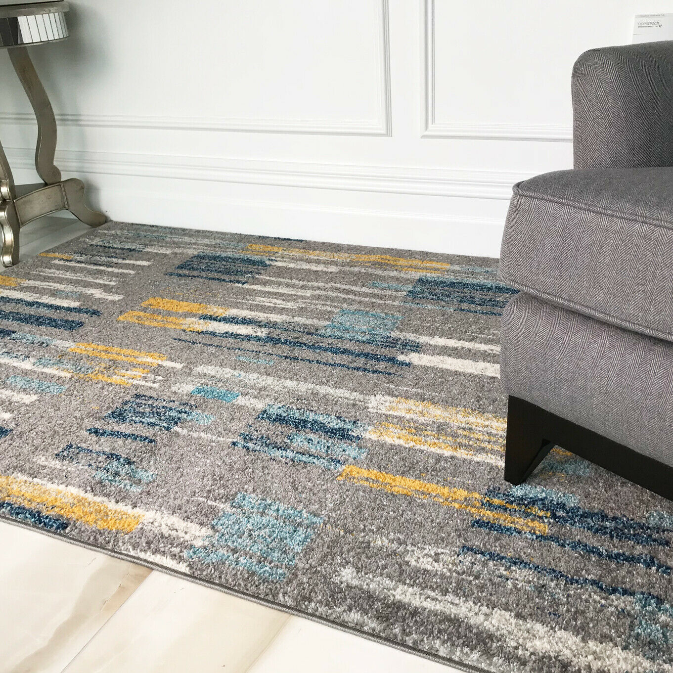 The living room is one of the most important areas in your house for a great hosting experience. Modern Geometric Living Room Rugs & Long Hallway Runners ...