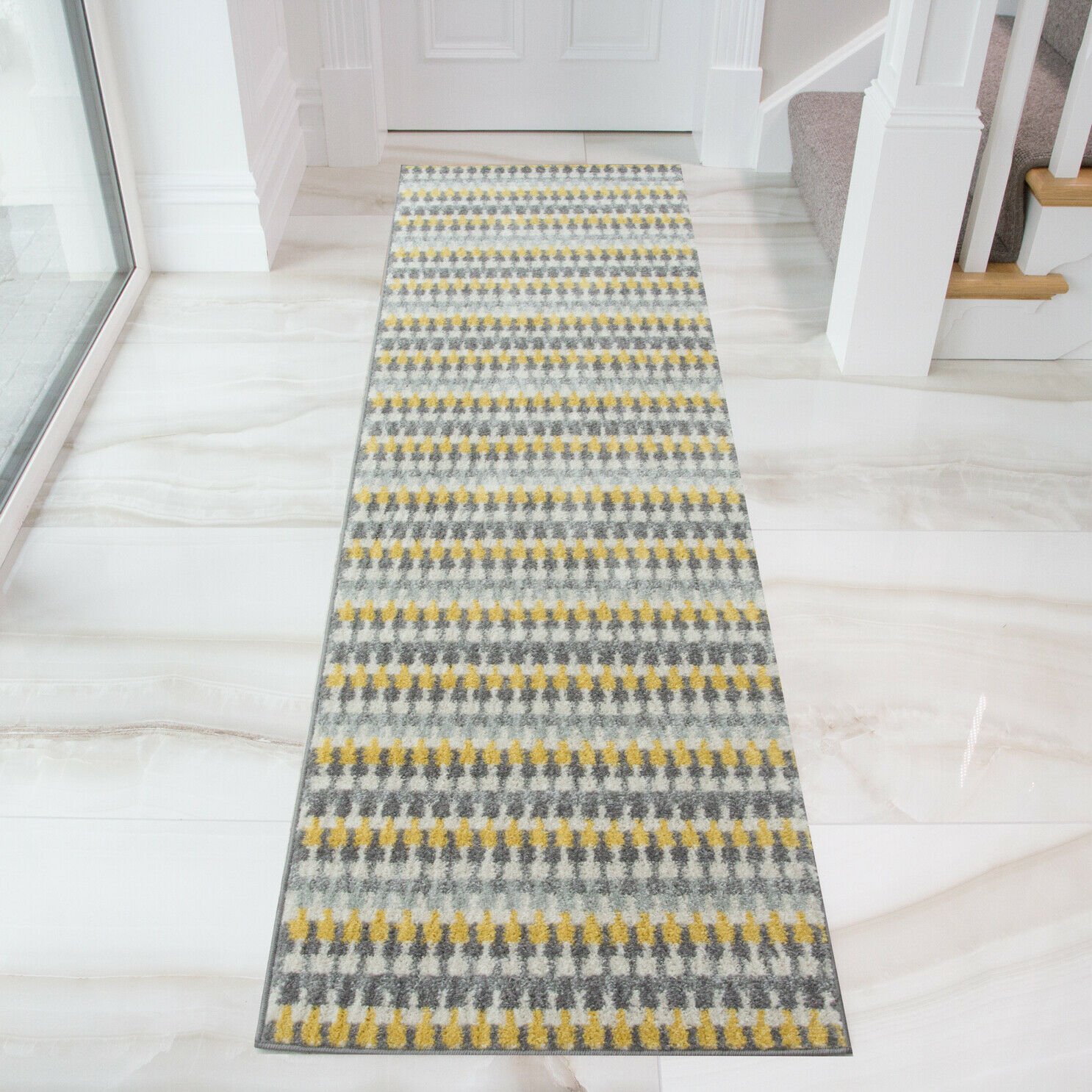 Read on for tips on how to choose a great area rug. Modern Geometric Living Room Rugs & Long Hallway Runners ...