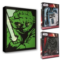 Official Star Wars Yoda Darth Vader Or R2D2 Illuminated ...
