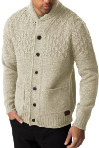 Threadbare Mens Knitted Cardigan Lille Button Up Chunky ...