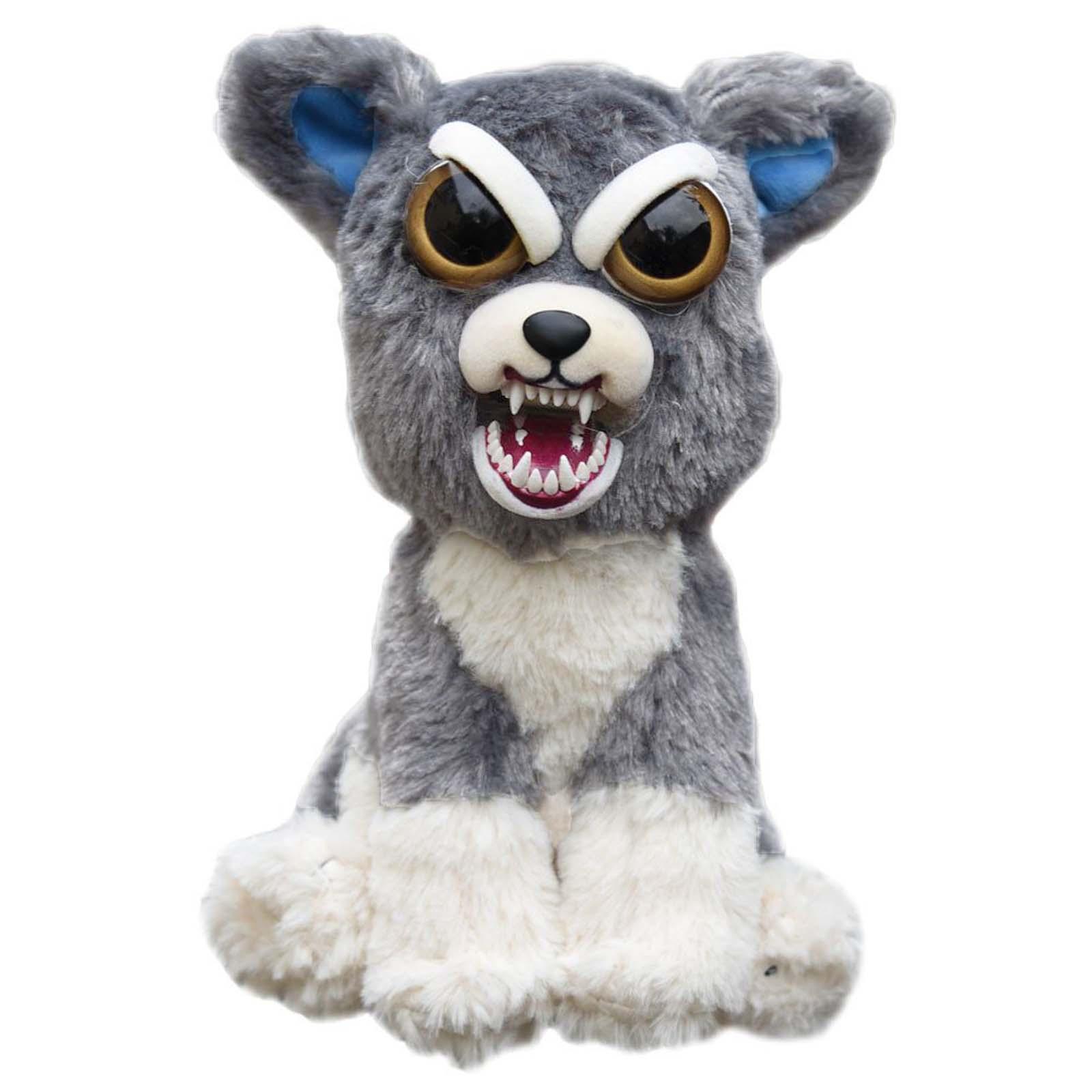 Feisty Pets Soft Plush Stuffed Scary Face Must Have Toy