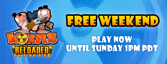 Worms Reloaded Free Weekend on Steam