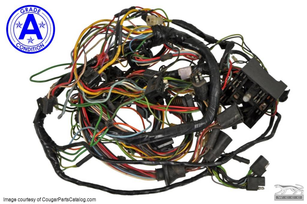 Under Dash Wiring Harness With A/C