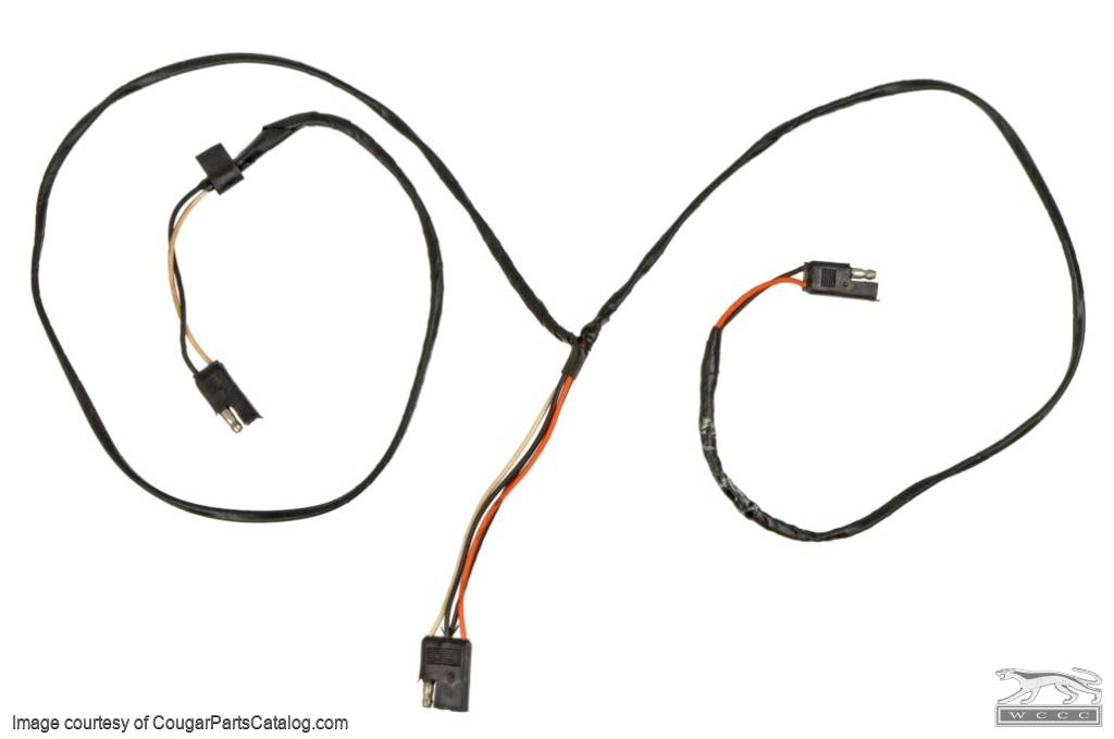 1973 Ford Mustang Radio Wiring Harness : 38 Wiring Diagram