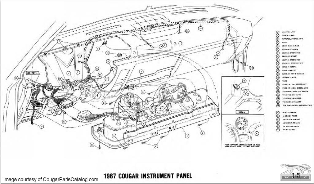 [DIAGRAM] 200mercury Cougar Wiring Diagram Original FULL