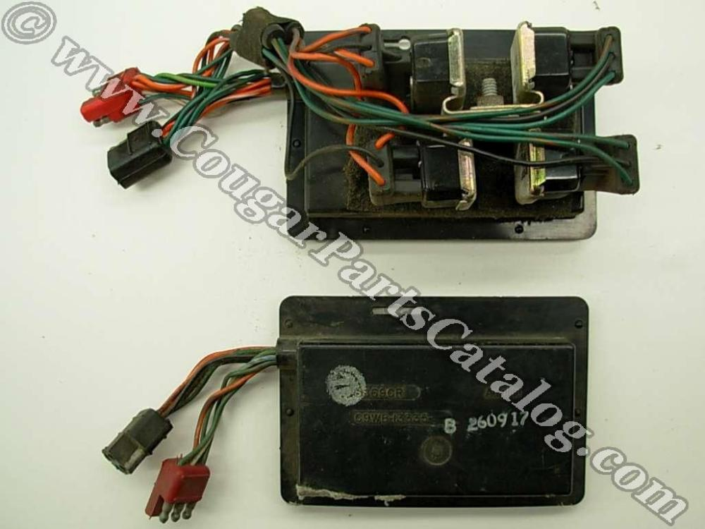 medium resolution of sequential turn signal box solid state for standard bulbs repro 1969