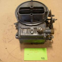 Rochester 4 Barrel Carburetor Diagram 2002 Ford Mustang Engine Holley List 6207 2 Core 1967