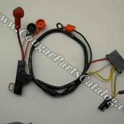 1969 Ford Mustang Alternator Wiring Diagram World Map For Visio Harness W O Gauges Economy Repro