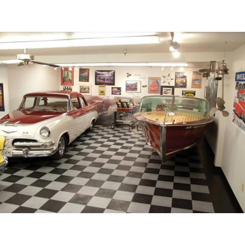 RaceDeck Diamond Garage Floor Tile  12