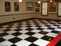Garage Tiles: Black White Garage Tiles