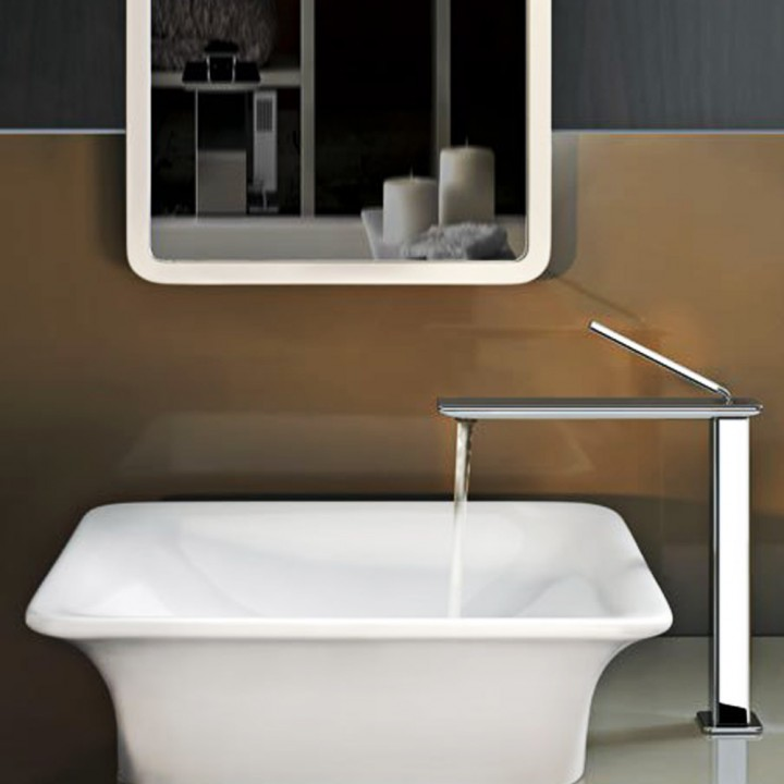"Accessori Bagno Gessi Prezzi Deck-mounted Washbasin ""ispa"" By Gessi In White Europe"