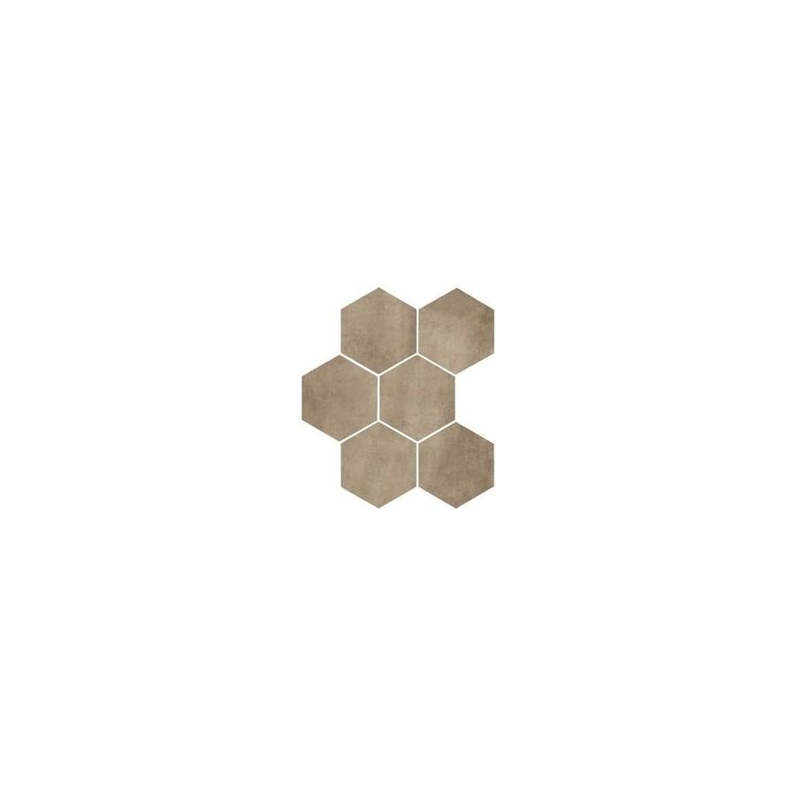 Clays 21x182 Marazzi piastrella esagonale in gres porcellanato