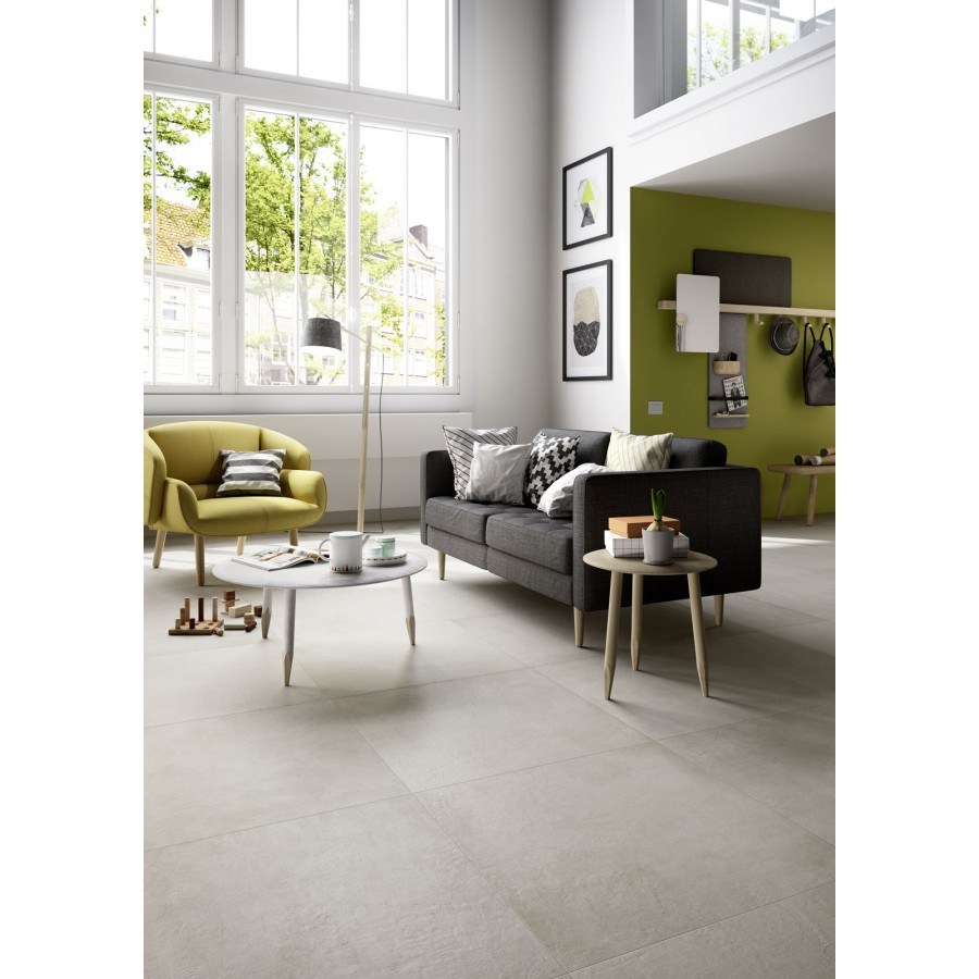 Plaster 75X75 Marazzi piastrella effetto cemento in gres porcellanato