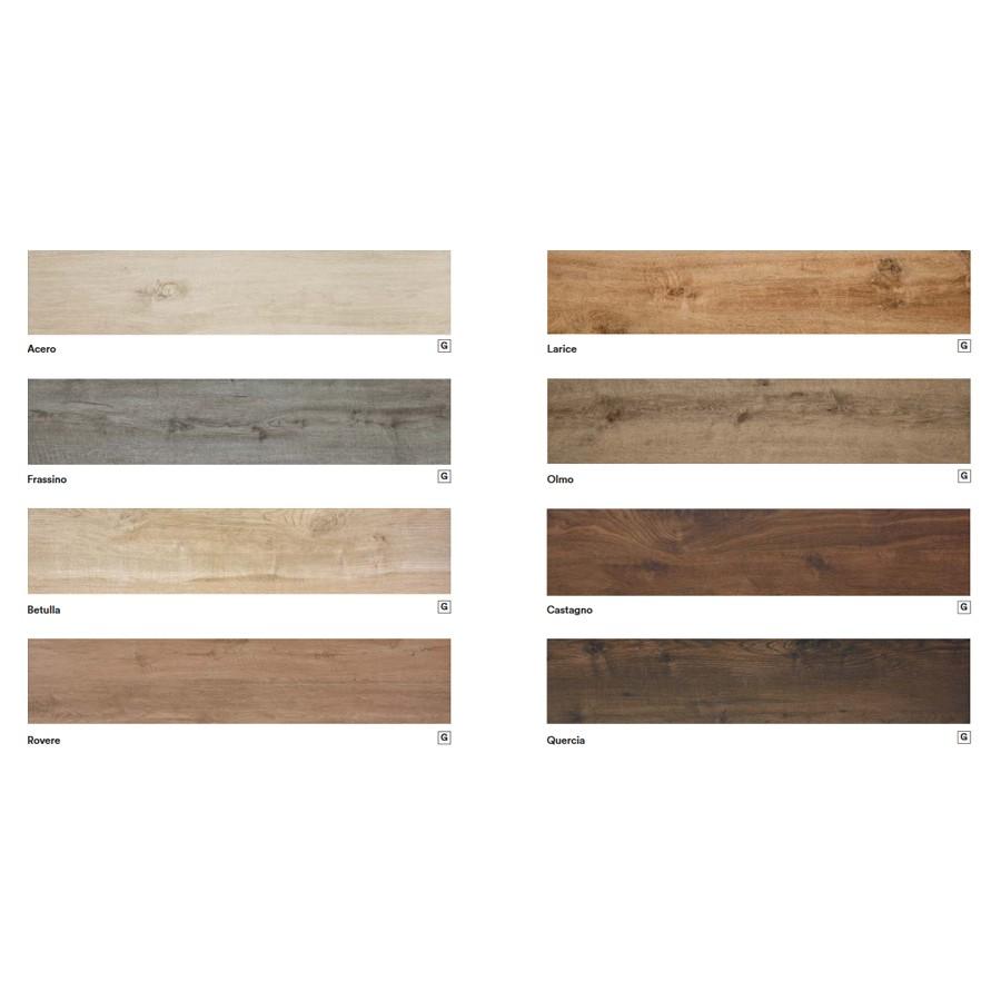 Treverkhome 15x120 Marazzi piastrella effetto legno gres