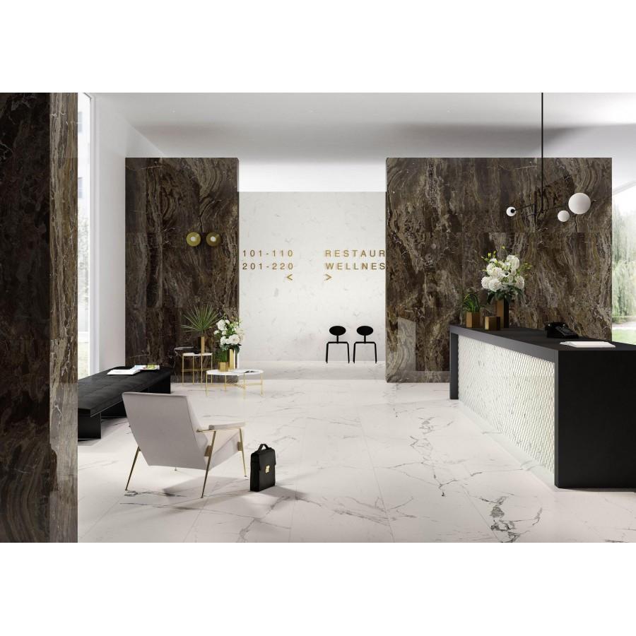 Allmarble 60x60 Marazzi piastrella effetto marmo in gres porcellanato