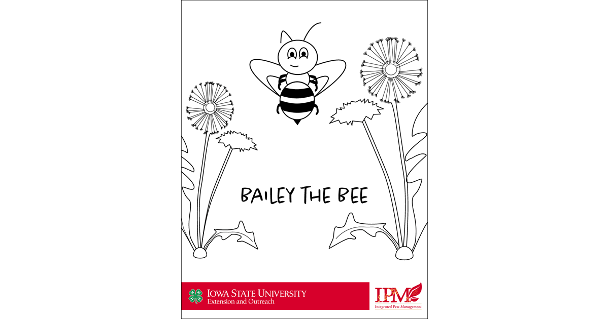 Bailey the Bee Coloring Pages