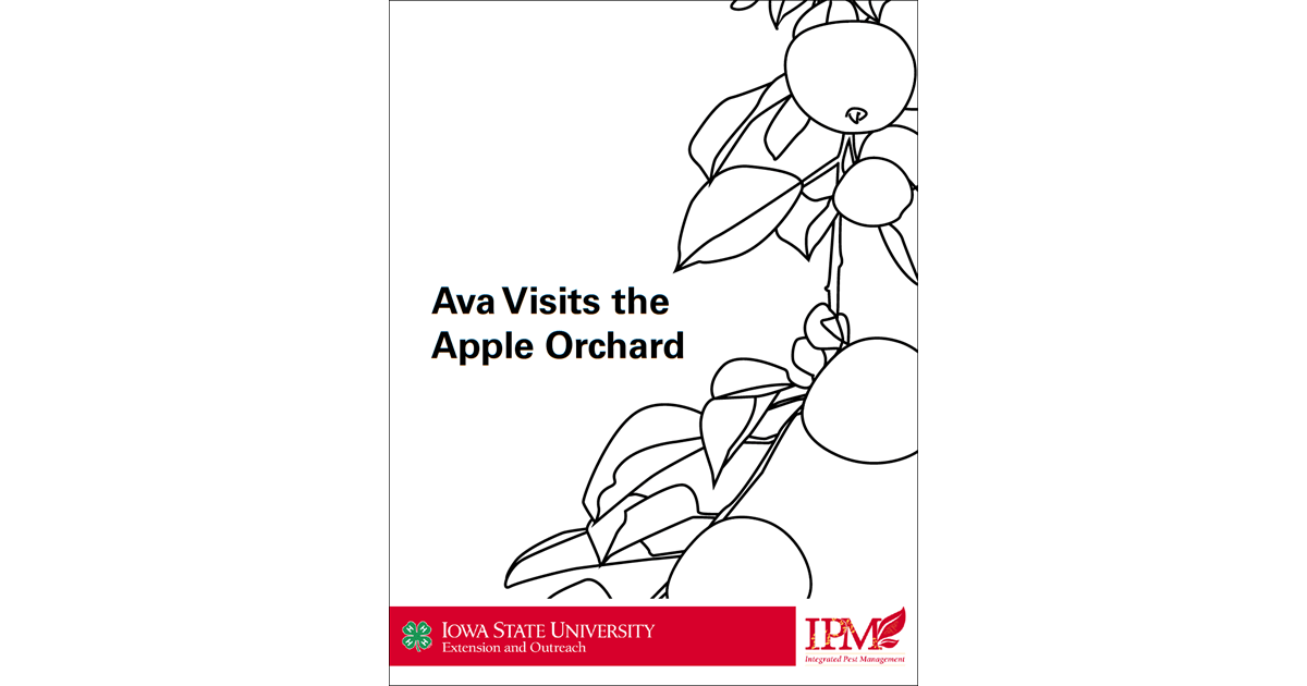 Ava Apple Orchard Coloring Pages