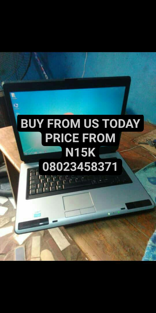 Affordable LAPTOPS for SALE from N15,000