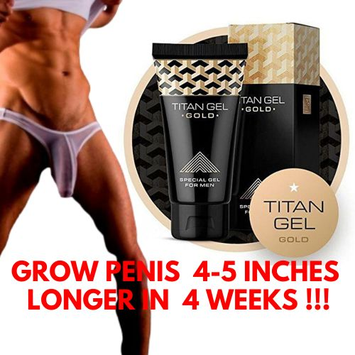 Titan Gel Penis Enlargement Cream Titan Red Gel ( LONG PENIS FAST GROWTH FORMULA)