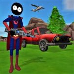 stickman superhero mod apk download