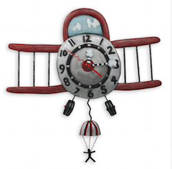 As Kindred Spirits airplane clock