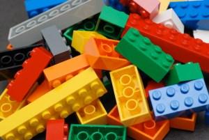 Lego bricks reduced