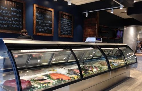 O'Donnell's Market seafood case