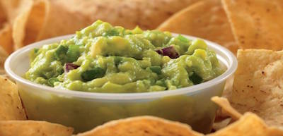 Qdoba chips and guacamole
