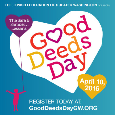 Good Deeds Day ad: http://www.shalomdc.org/good-deeds-day/