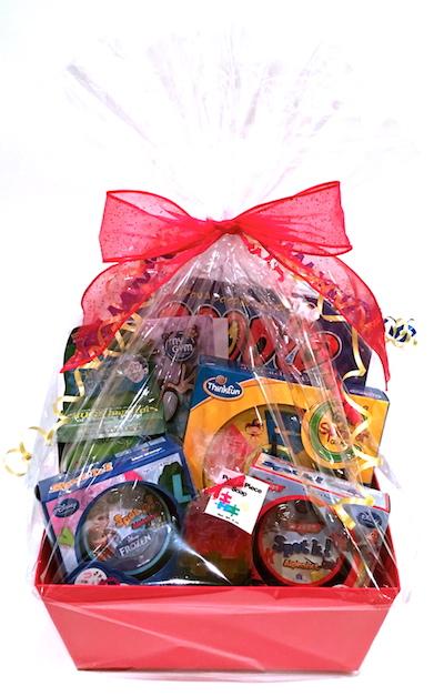 Kids' gift basket
