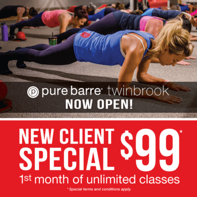 Pure Barre Twinbrook New Client Special: http://purebarre.com/md-twinbrook/