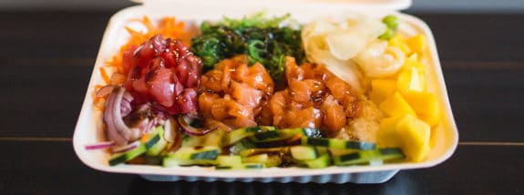 Platter from Honeyfish Poke
