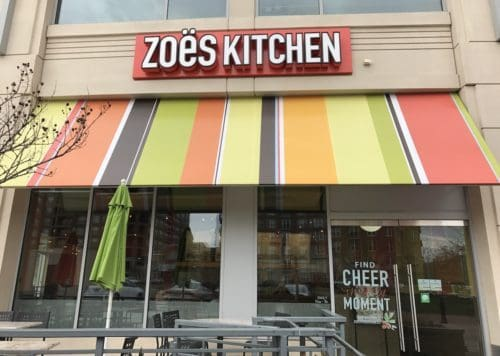 Zoës Kitchen at Park Potomac